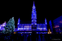 Illumination Grand Place de Bruxelles 2014